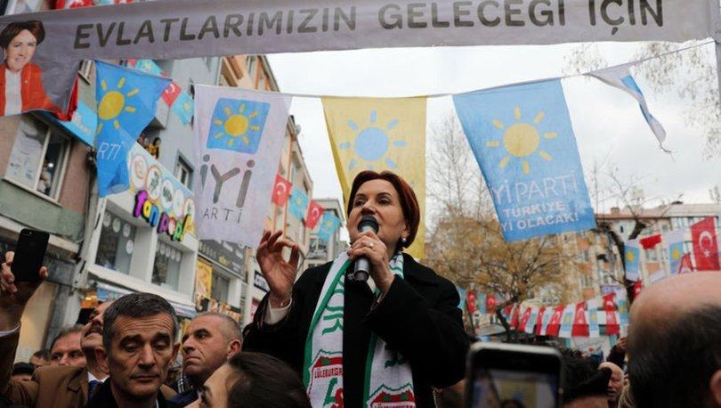 İYİ Parti Genel Başkanı Akşener'den partisindeki istifalara ilişkin açıklama