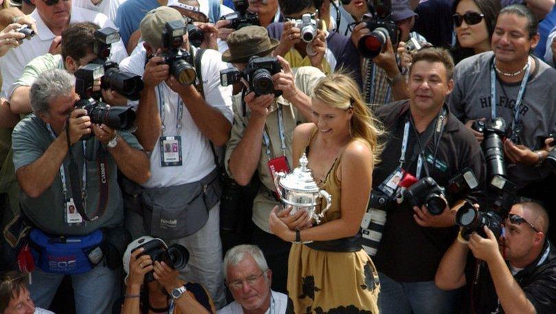 Tenis dünyasından Sharapova'ya elveda