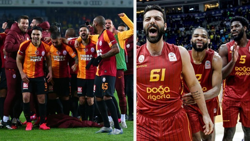 Galatasaray, Fenerbahçe'yi futboldan sonra basketbolda da devirdi!