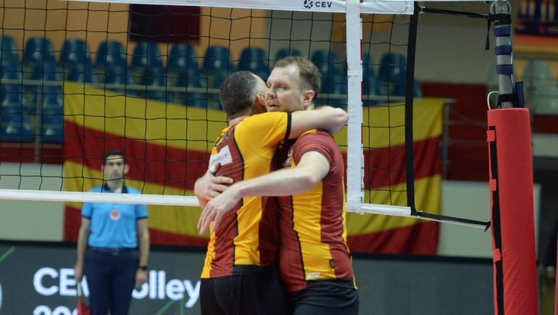 Galatasaray HDI Sigorta: 3 - Arkas Spor: 1 | MAÇ SONUCU
