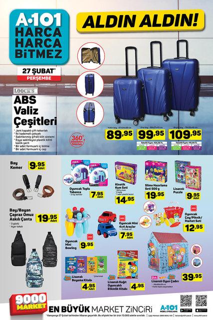 A101 aktüel ürünler kataloğu 27 Şubat 2020 Perşembe! A101'de katalogda hangi ürünler indirimli?