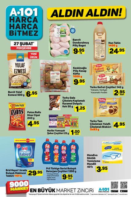 A101 27 Şubat 2020 aktüel ürünleri satışta! Bugün A101'de hangi ürünler indirimli olacak? İşte tam liste