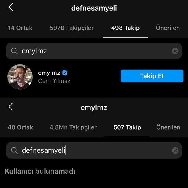 """Defne Samyeli'ye Cem Yılmaz şoku! """"Haberim yok"""" dedi ama... Magazin haberleri"""