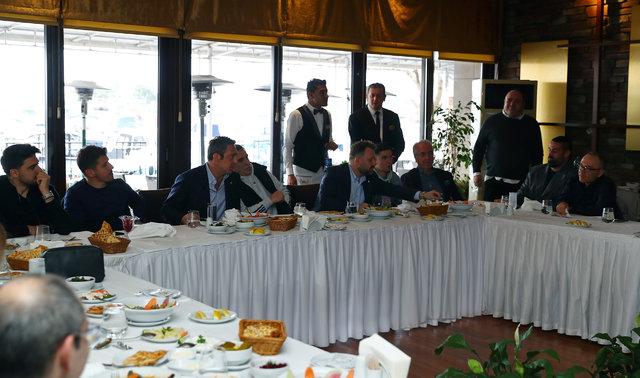 Fenerbahçe'de moral yemeği (Fotoğraflar yayınlandı)