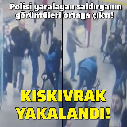Polisi vuran saldırgan kamerada!