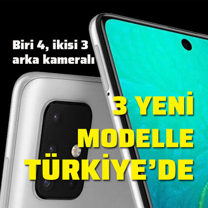 Samsung'un 3 yeni telefonu Türkiye'de