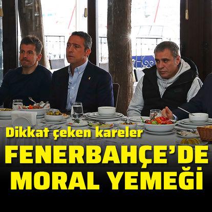 Fenerbahçe'de moral yemeği