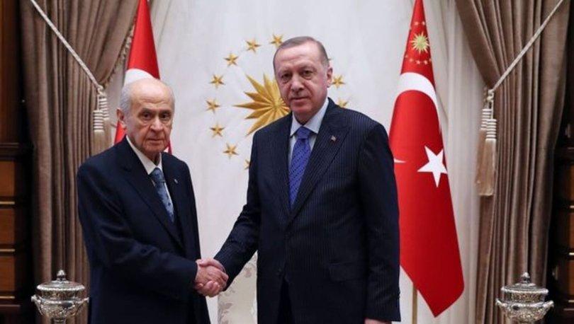 Son dakika haberi! Cumhurbaşkanı Erdoğan ile Bahçeli bir araya geliyor!