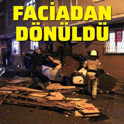 Zeytinburnu'nda faciadan dönüldü!