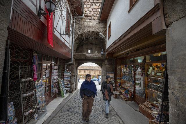 Tarih, kültür ve ticaret merkezi: Ankara Kalesi