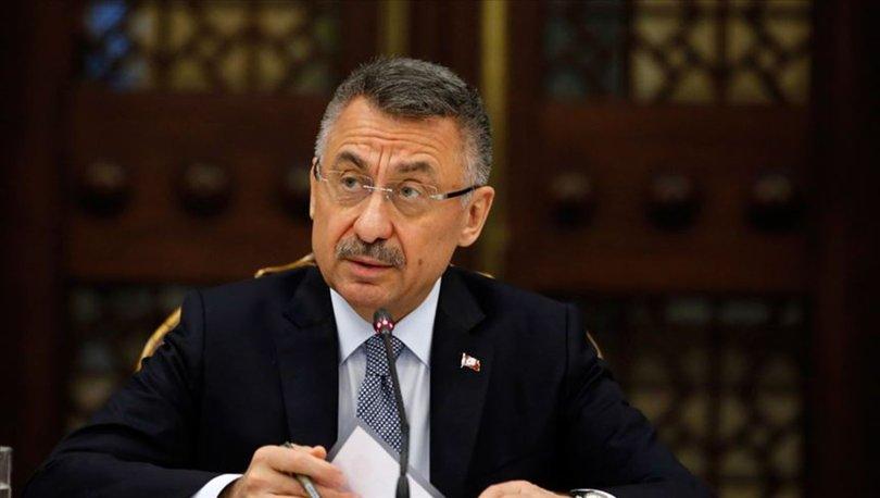 Fuat Oktay: Esed rejimi bu alçakça saldırının bedelini ağır ödeyecektir