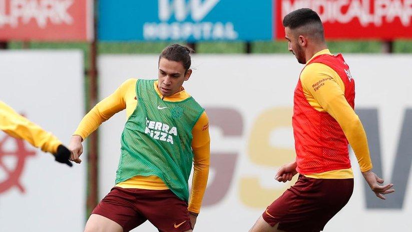 Galatasaray'da çalışmalar sürüyor