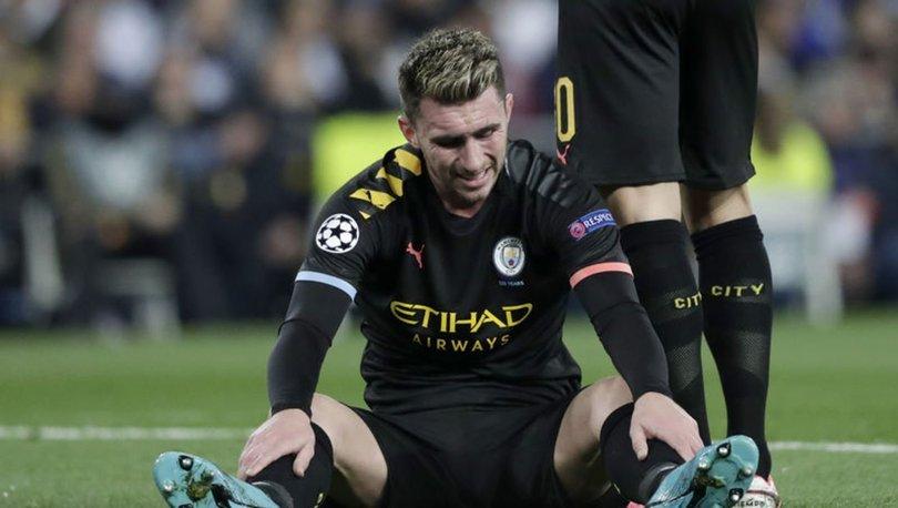 Manchester City'de sakatlanan Laporte, 3-4 hafta oynayamayacak