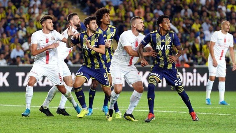 Fenerbahçe'nin Antalyaspor maçı muhtemel 11'i (maç saat kaçta maç hangi kanalda)