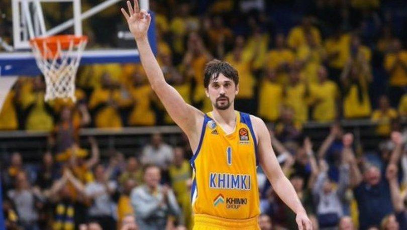 THY Avrupa Ligi'nde 26. haftanın MVP'si Khimki'den Shved
