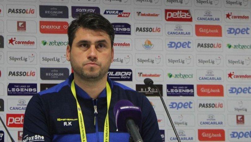 Fenerbahçe Yardımcı Antrenörü Recep Karatepe: