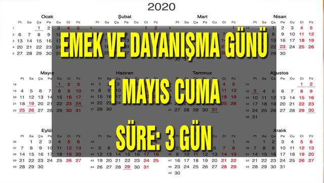 Resmi tatiller 2020 takvim! Diyanet takvimi Ramazan ayı ve Kurban Bayramı tarihleri açıklandı! Tatiller kaç gün?