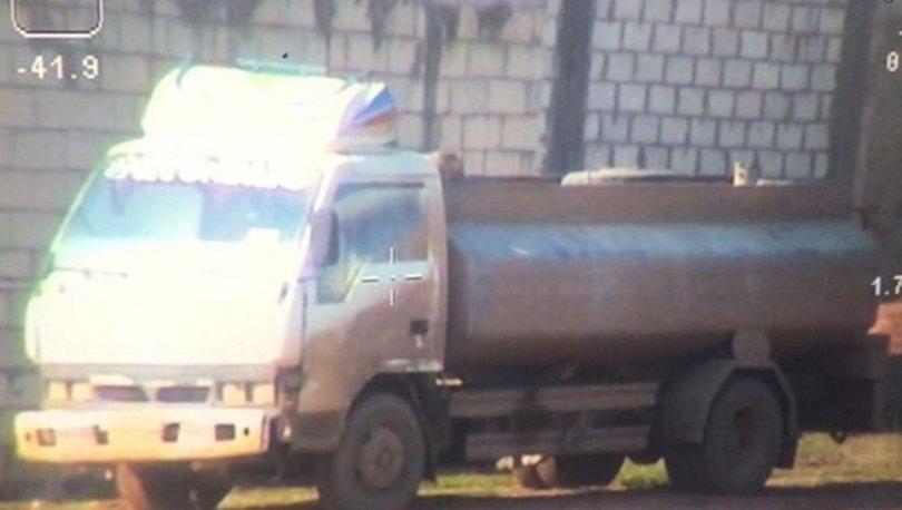 Barış pınarı harekatı bölgesinde bomba yüklü araç