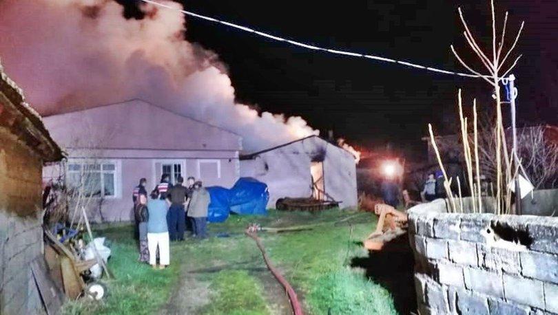 Son dakika haberi! Silivri'de tek katlı binada yangın: 1 ölü