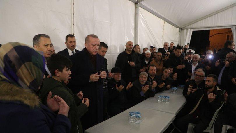 Cumhurbaşkanı Erdoğan'dan şehit evine ziyaret - Haberler