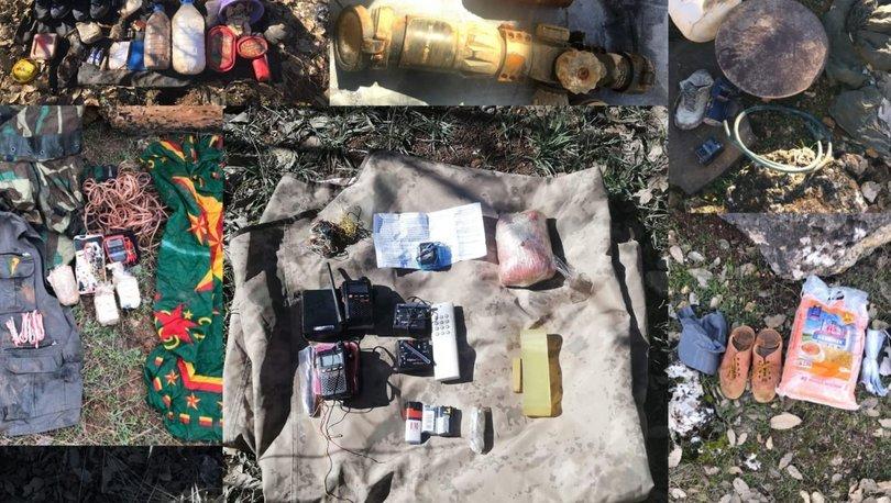 Son dakika haberi! PKK'nın malzeme tedarikçilerine operasyon!