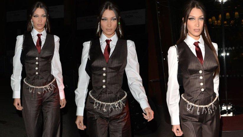 Bella Hadid Türk modacıyı seçti!