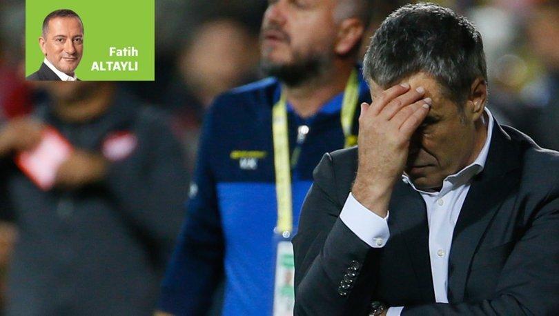 Fatih Altaylı'dan Fenerbahçe için teknik direktör yorumu! Lucescu...