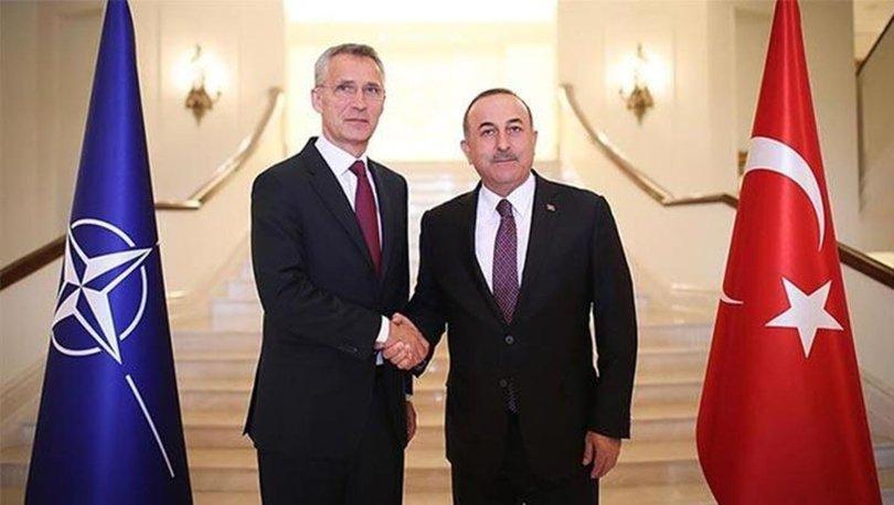 Son dakika... Dışişleri Bakanı Çavuşoğlu NATO Genel Sekreteri ile görüştü