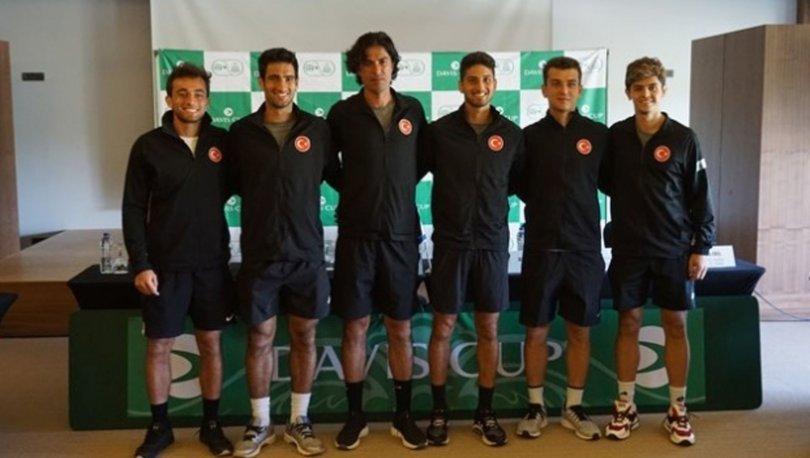 Davis Kupası'nda Türkiye-İsrail maçlarının kurası çekildi