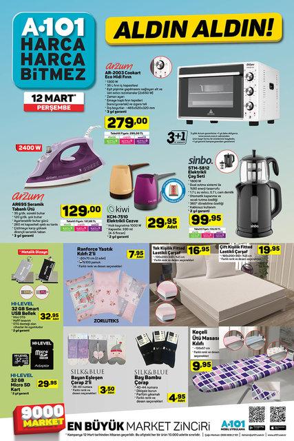 BİM A101 ŞOK aktüel ürünler kataloğu 2020! 11 - 12 - 13 Mart BİM, A101 ve ŞOK'ta indirimli ne var? İşte liste