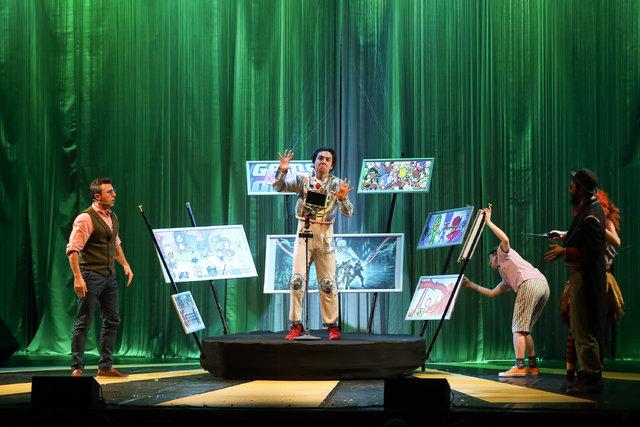 İş Sanat'tan müzik ve dansı bir araya getiren çocuk oyunu