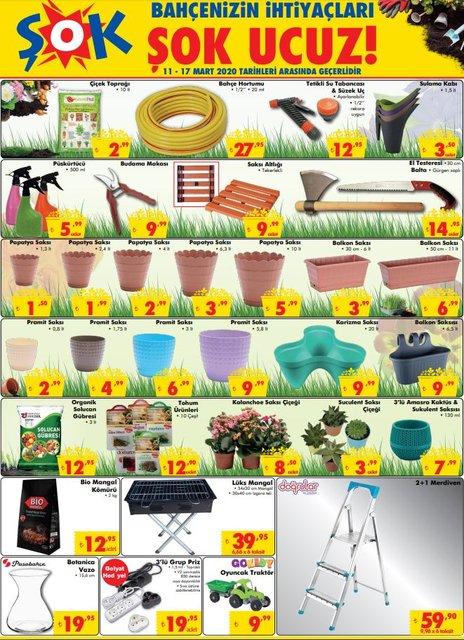 BİM A101 ŞOK aktüel ürünler kataloğu 2020! 11 - 12 - 13 Mart BİM, A101 ve ŞOK'ta indirimli ne var?