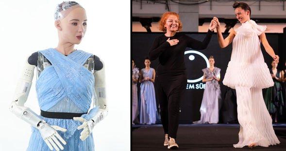 Robot Sophia Türkiye'ye geliyor
