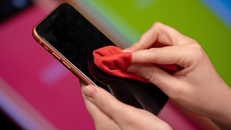 iPhone temizleme