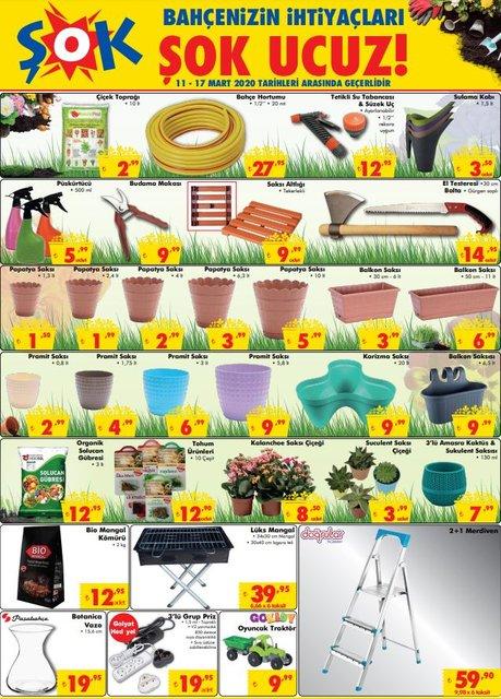 ŞOK aktüel ürünler kataloğu 11 Mart 2020 Çarşamba! ŞOK katalogda indirimli ne var?
