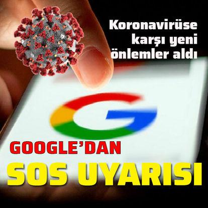 Google koronavirüs