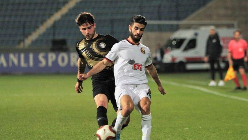 Osmanlıspor: 1 - Eskişehirspor: 1   MAÇ SONUCU