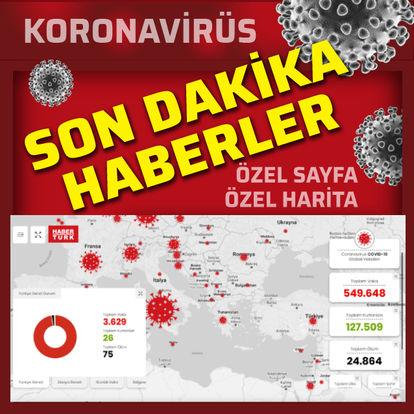 Son dakika koronavirüs haberleri