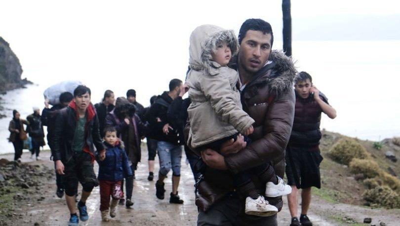 Sığınmacıların Yunanistan'a geçişi