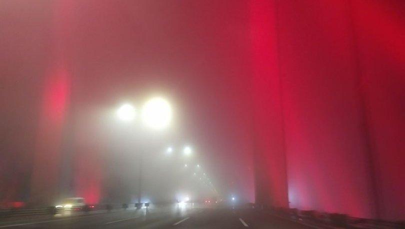 İstanbul'da etkili sis