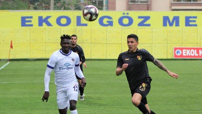 Menemenspor: 2 - İstanbulspor: 2