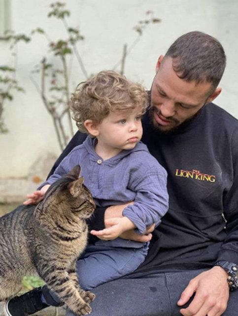 Çağan Atakan Arslan'ın oğlu Leon Aslan Arslan ile baba-oğul pozu - Magazin haberleri