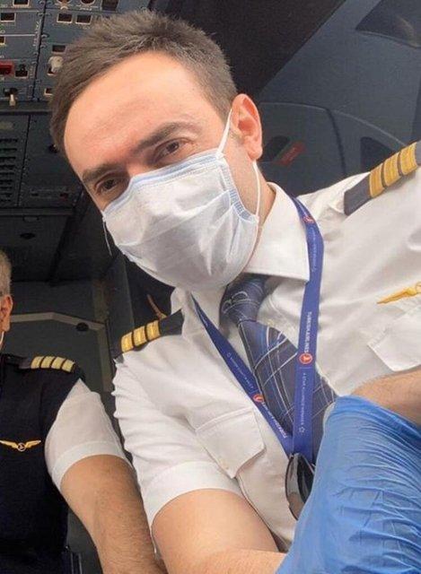 Ece Seçkin'den pilot nişanlısı Çağrı Terlemez: Bu uçuşu hayatı boyunca unutmayacağına eminim...