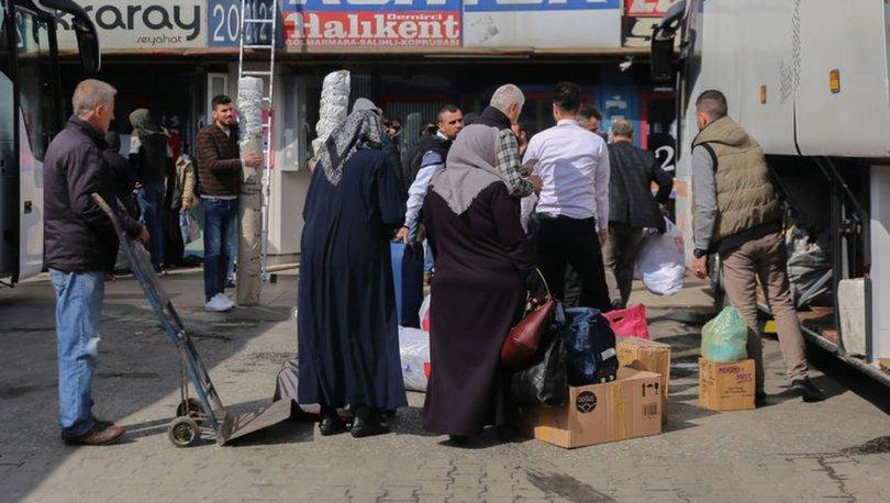 15 Temmuz Demokrasi Otogarı'nda koronavirüs yoğunluğu - İSTANBUL