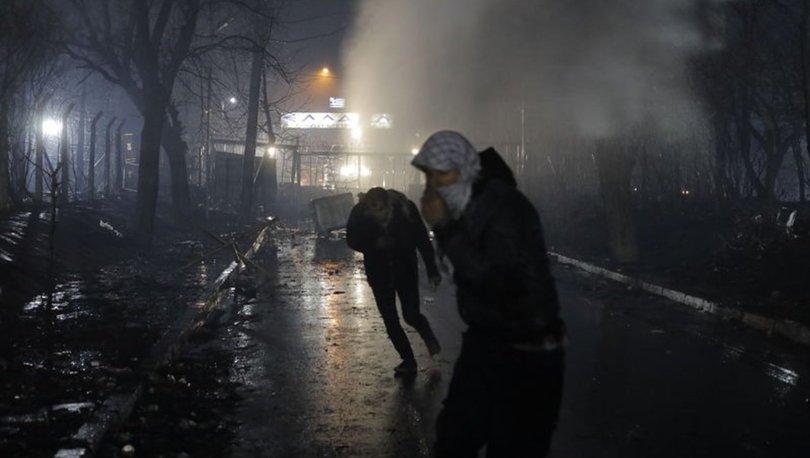 yunanistandan sığınmacılara sert müdahale