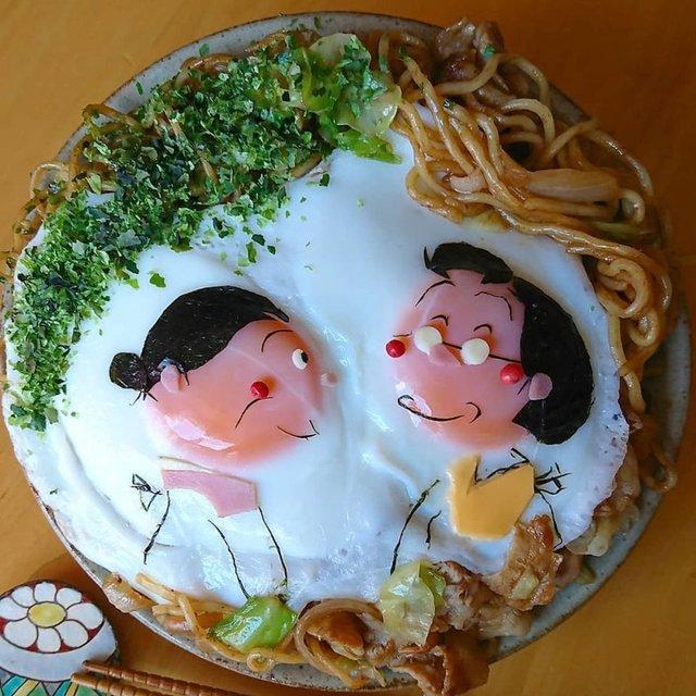 Japon annenin paylaştığı birbirinden leziz sunumlar