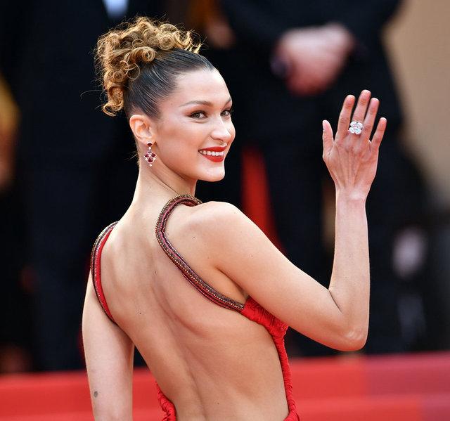Bella Hadid'ten 'evde kal' çağrısı - Magazin haberleri