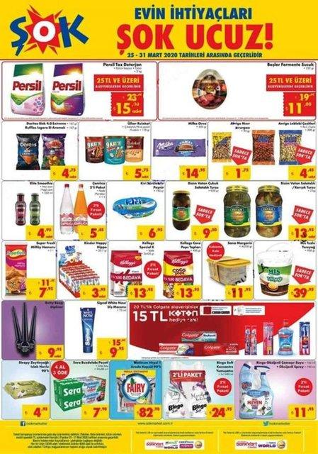 BİM A101 ŞOK aktüel ürünler kataloğu 2020! 25 - 26 - 27 Mart BİM, A101 ve ŞOK katalog ürünleri