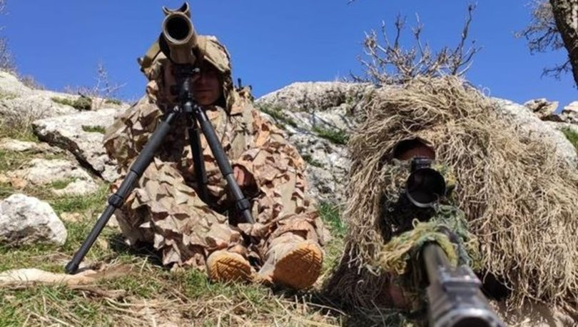 PKK'lı terörist öldürüldü