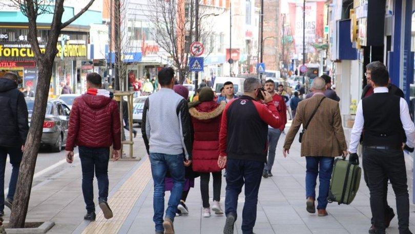 Sivas'ta koronavirüs tedbirlerine uymayan 87 kişiye para cezası